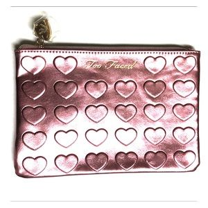 NEW! Limited Edition Too Faced Makeup Bag